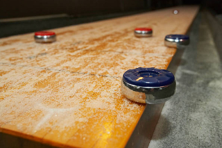 SOLO® Shuffleboard Movers Birch Bay, Washington.